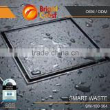 Smart Waste Stainless Steel Mesh Swimming Pool Drain Cover