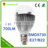 led bulb new product on usa market energy saving led bulb light indoor aluminum rgb white wifi light bulb covers