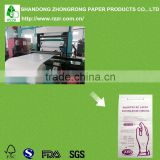 High quality medical grade pe coated paper rolls