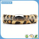 Wholesale Alibaba Brown Wrap Stingray Leather Bracelet