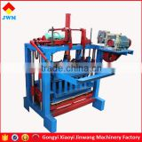 small scale block making machine/hand operated mini brick making machine /mini block making machine low price