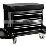 Tool chest Seat with 3 Drawer & 2 Tray & Pry Bar Holder