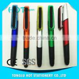 Best wholesale websites mini bullet stylus pen cap with the cleaner and the soft black stylus