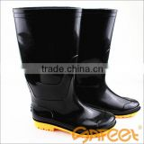 PVC acid and alkali resistant children working shoes, work man for safety shoe women, steel toes work boot SA-9807