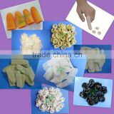 ESD Cheap price latex finger cot wiith different color and powdered /powder free for roll and cut type