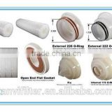 Activated carbon fiber ACF pleated filter cartridge for The adsorption of heavy metal ions