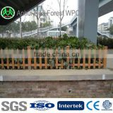 cheap bamboo fencing /cheap garden fencing wood plastic coated fence post design ISO 9001 Factory
