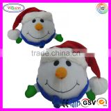 A111 Musical Snowman Singing Jingle Doll Stuffed Christmas Animated Electronic Plush Toys