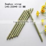 Natiral bamboo drinking straws