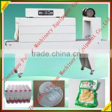 Auto shrink dairy products PE film shrink packing machine