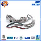 factory yacht braided rope sailboat line