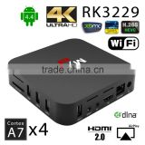 2016 Newest RK3229 MXR Smart Android tv box Quad Core 1G/8G TV Box Support 4K*2K H.265 HDMI 2.0