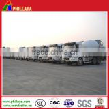 Made in China concrete mixer truck trailer with water tank