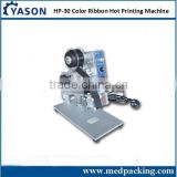 Manual Hot Foil Stamping Expiry Date Printing Machine HP-30