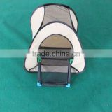 pop-up foldable cat tent with toilet pet toilet