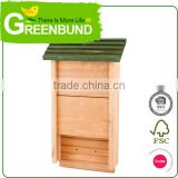 Bat Shelter Box Mosquito Bug Control House Cedar Ark Workshop Chamber Wood