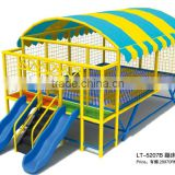 Outdoor soft round high quality single jumping trampoline