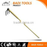 new long handle steel 3 prong garden hoe agriculture tools