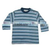 baby clothing, Wholesale stripes printings t-shirts for girls long sleeves