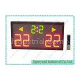 Super Bright LED Volleyball Scoreboard For Indoor / Outdoor 80cm x 40cm