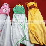 Cartoon Animal Style Hooded Baby Towel 0-48 months