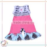Newest cute pink sequin waist band newborn organic cotton baby rompers wholesale baby clothes