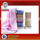 Wholesale 100% Cotton Hotel hand towels hotel satin band hand towels