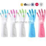 Free Sample Waterproof Printing Cleaning Skin Care Warm Thicken Breathable Latex Gloves