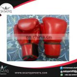 Leather custom logo boxing gloves for hot selling