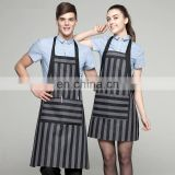 Wholesale Stain Retardant Treated Customised BBQ Pinafore with sleeves Bib Apron Patterns