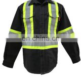 flame retardant workwear shirt with NFPA2112 standard, UL certification