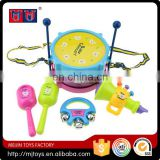 Meijin cheap series Educational Musical instrument Drum Play Set for kids