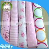 custom fabric printing reusable bamboo flannel baby diapers