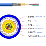 Multi-cores Distribution Armored Fiber Optic Cable