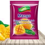 Mango flavored instant drink juice powder