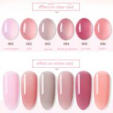 Nude Nail Gel Polish Jade And Jelly Healthy-red Soak Off UV/LED Gel Polish