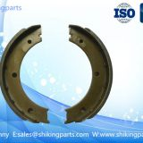 HEBEI002 Fiat brake shoes,Asbestos free,diameter of 180mm
