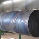 API 5L Spiral Steel Pipe   Liquid Gas Transportation Welded Steel Pipe For Sale