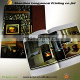 competitive price Spot UV furniture promotion catalogue make in shenzhen printing factory