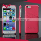 2015 Guangzhou Hot Selling Stand Pattern Wallet Leather Case Credit Card Slot for Iphone 5c