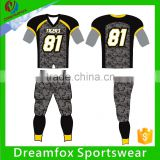 Quality Customized American Football Uniforms/army camo football uniforms                                                                                                         Supplier's Choice