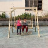 wooden outdoor baby swing, outdoor swing set single for kids
