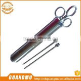 food injector brine meat injector full stainless steel meat injector