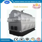 Trade Assurance Horizontal Three Pass Manual operation coal fired industrial steam boiler with feed water pump