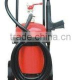 trolley fire extinguisher, ABC dry powder fire extinguisher, CO2 fire extinguisher
