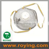 protective dust proof respirator mask with valve