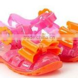 2015 hot selling PVC kids shoes