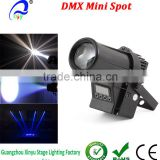 DMX512 LED Pinspot Light 10W RGBW 4-in-1 LED Wash Beam Pinspot Stage Spotlight Projection Effect Lighting