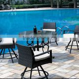 2015 Top sale simple design rattan sofa set /rattan sofa set/rattan outdoor furniture (DH-N9091)