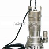 Submersible pump stainless steel WQX(D) series complete precision casting drainage sewage submersible water pump